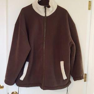Sky Vintage Jacket zip up size M but feels larger